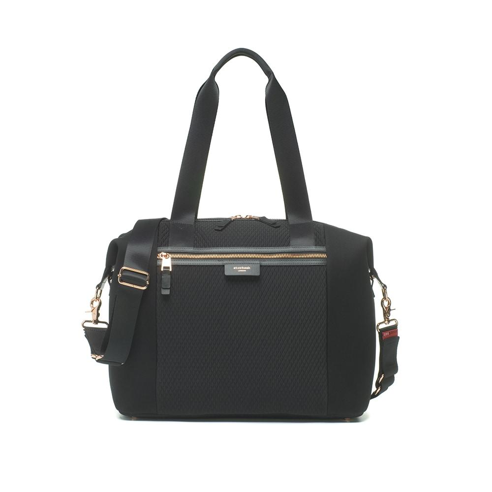 Image of   Storksak Pusletaske - Stevie Luxe Scuba - sort