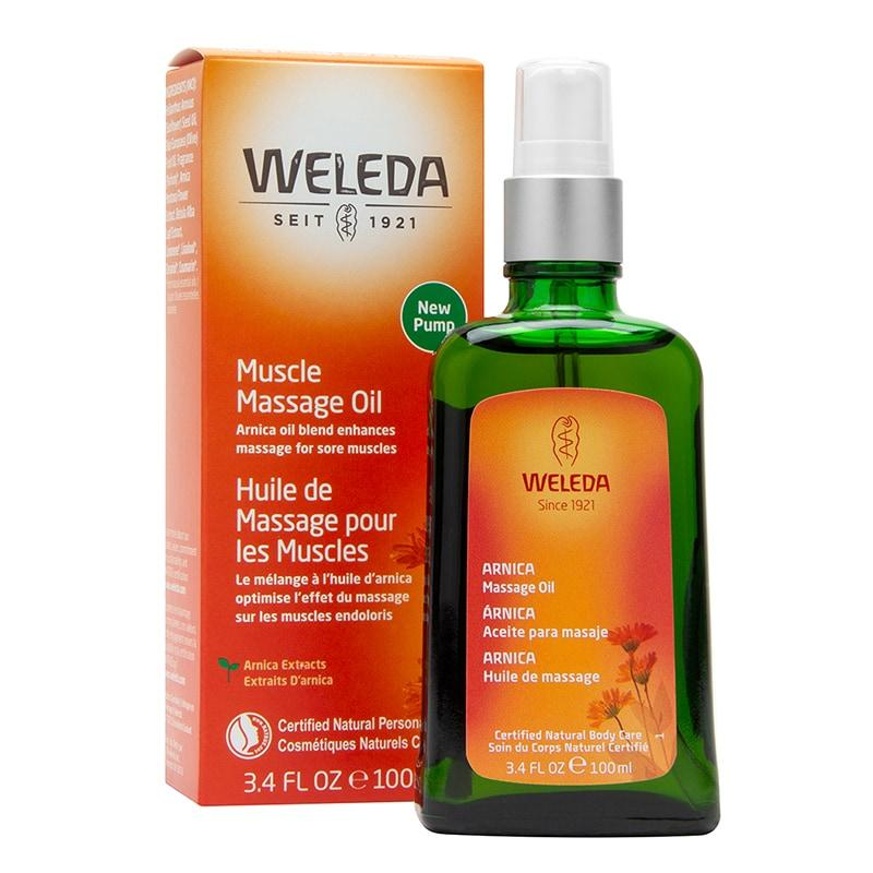 Image of   Weleda Arnica Massage Oil - 100 ml
