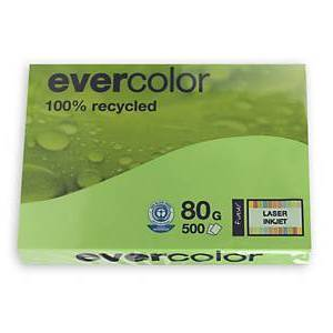 EVERCOLOR, lindgrün, 80g/m², A4