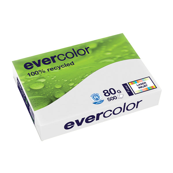 EVERCOLOR, grau, 80g/m², A4