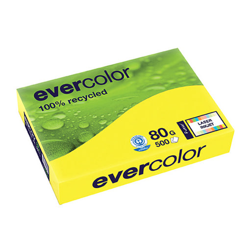 EVERCOLOR, gelb, 80g/m², A4