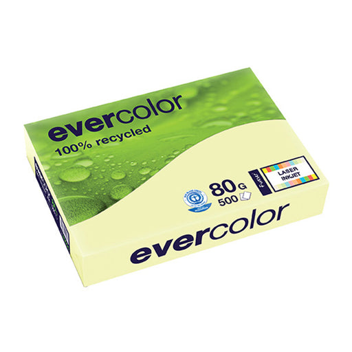 EVERCOLOR, hellgelb, 80g/m², A4