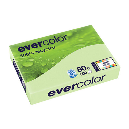 EVERCOLOR, hellgrün, 80g/m², A4