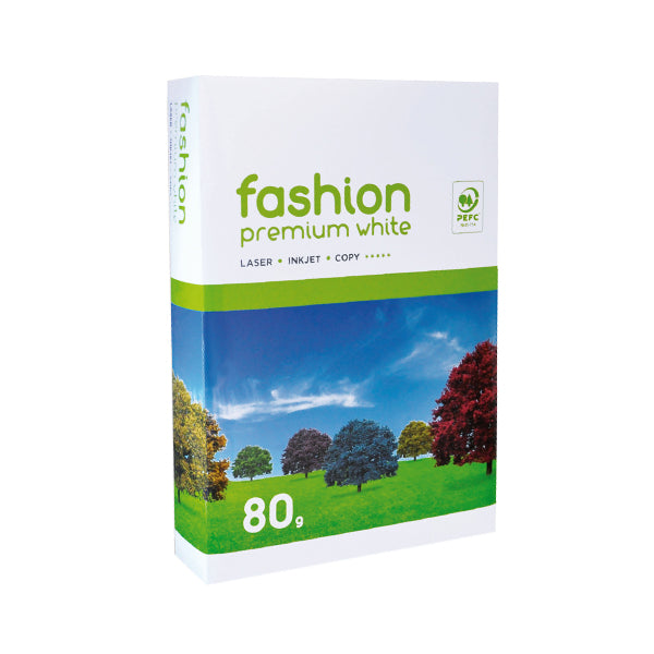 Fashion, hochweiss, 80g/m², A4