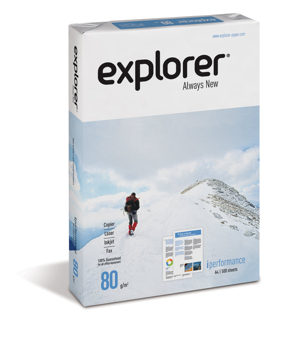 Explorer, superweiss, 80g/m², A4