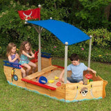 Kidkraft Pirate Sandboat Play Sets- Bounce and Swing
