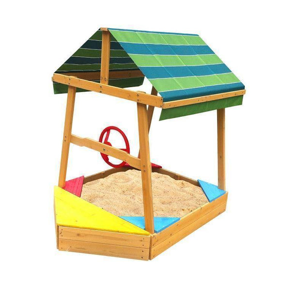 Lifespan Explorer Boat Sandpit Outdoor Play- Bounce and Swing