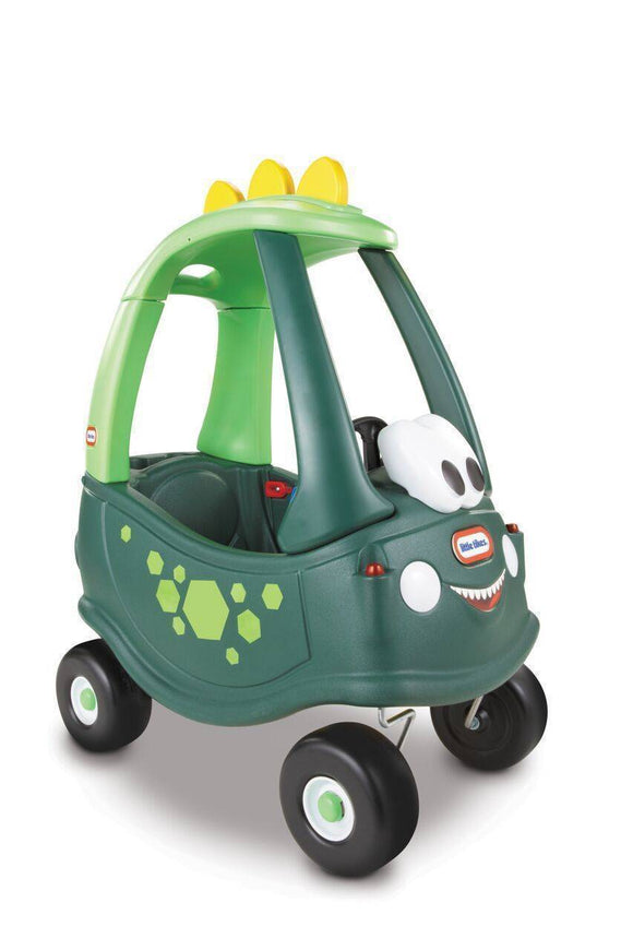 Little Tikes Cozy Coupe Dino Kids Ride On Toy Ride On- Bounce and Swing