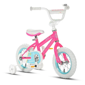 "Progear Blossom Click-N-Go 12"" Pink Girls Kids Bike"