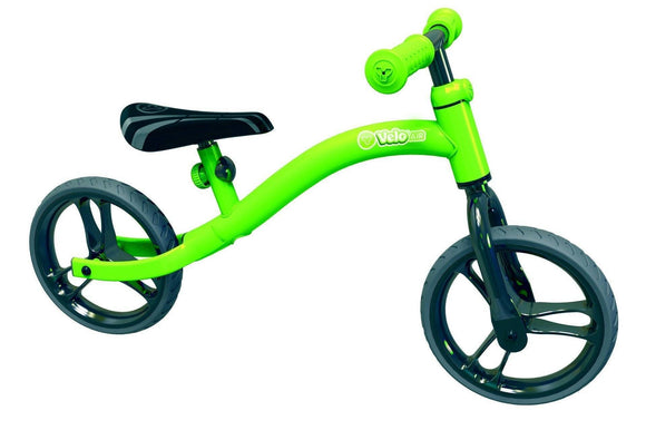 Y Velo Air Balance Bike Green Ride On- Bounce and Swing