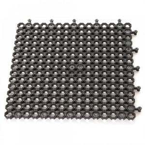 PLUM Protekatmat Square Black - 0.5 x 0.5m - Pack of 2 Accessories- Bounce and Swing