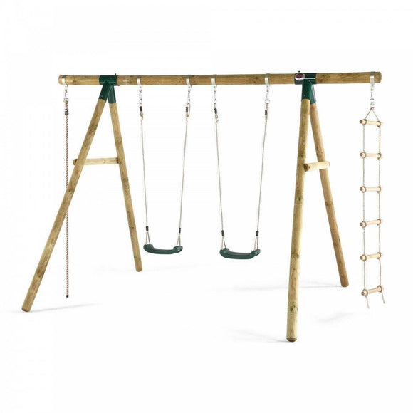 PLUM Gibbon Swing Set Sliders&Swings- Bounce and Swing