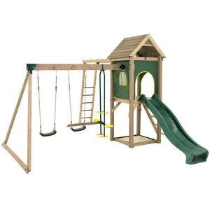 PLUM Kudu Wooden Play Centre Play Centres- Bounce and Swing
