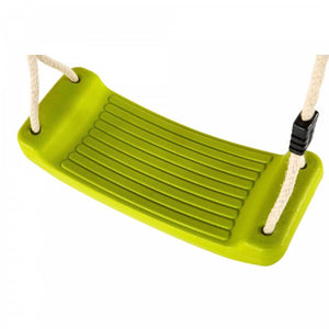PLUM Swing Seat with Hangars - Lime Sliders&Swings- Bounce and Swing