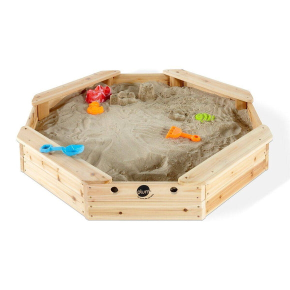 PLUM Treasure Beach Sand Pit Outdoor Play- Bounce and Swing