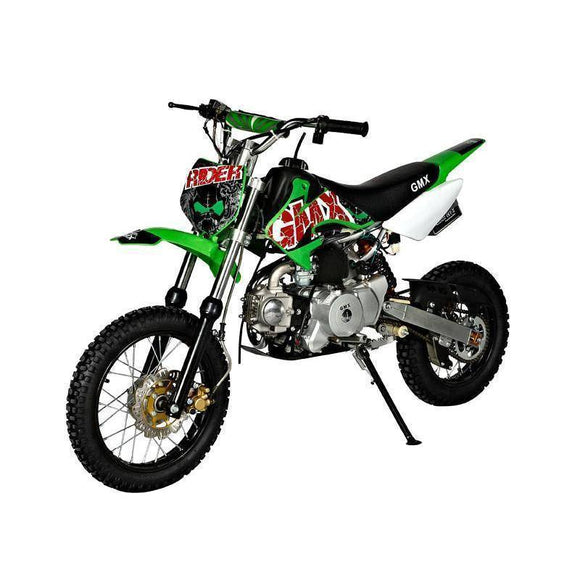 GMX Rider 70cc Dirt Bike Kids Ride On Green