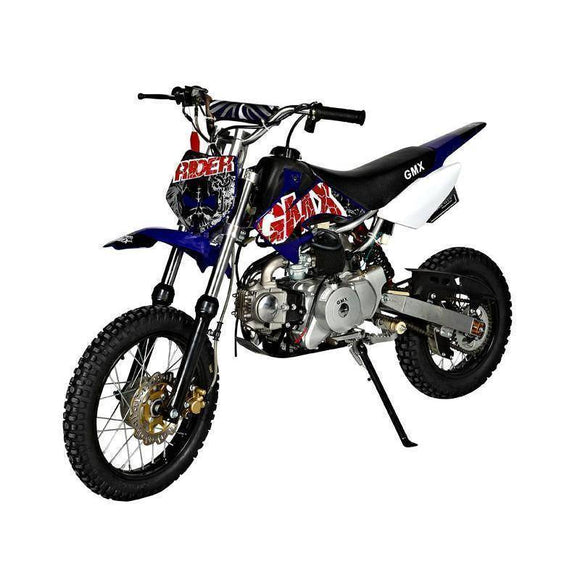 GMX Rider 70cc Dirt Bike Kids Ride On Blue