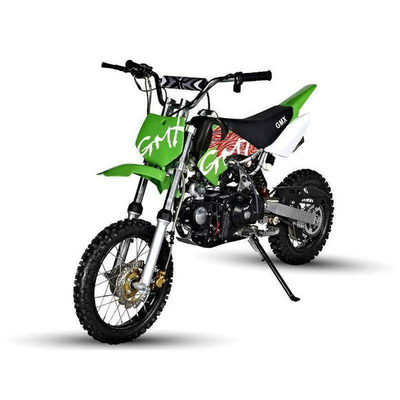 GMX Rider 125cc Dirt Bike Kids Ride On Green