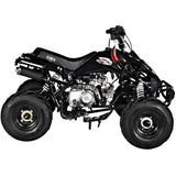 GMX Sports Zilla X 125cc Sports Quad Bike Black Ride On