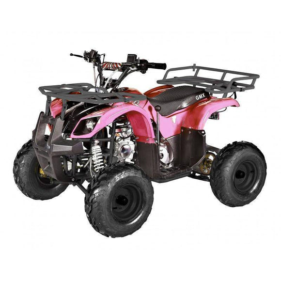 GMX Mudder JNR 125cc Farm ATV Pink Ride On