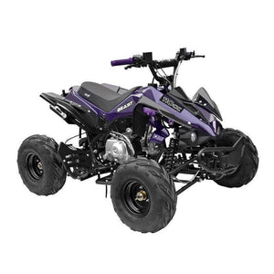 GMX Beast 110cc Sports Quad Bike Purple Ride On