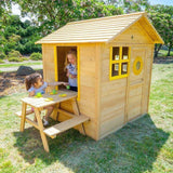 Lifespan Bandicoot Cubby House Full Set Playhouse- Bounce and Swing