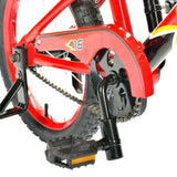 "Progear Shockwave Click-N-Go 16"" Red Kids Bike Ride On- Bounce and Swing"