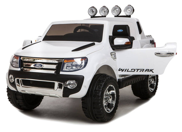 Ford Ranger Electric Ride On Toy Car 12v (White)