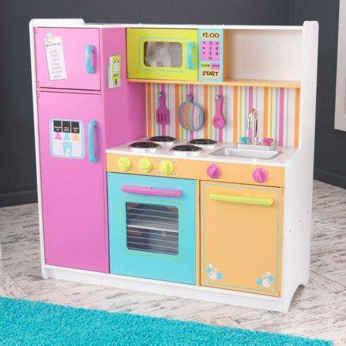 Kidkraft Deluxe Big And Bright Kitchen Play Sets- Bounce and Swing