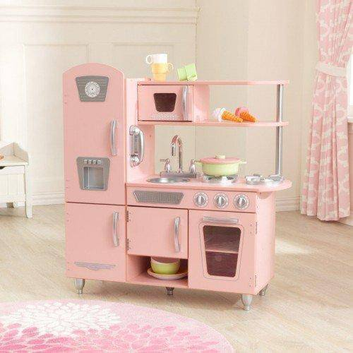 Kidkraft Pink Vintage Kitchen Play Sets- Bounce and Swing