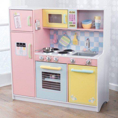 Kidkraft Large Pastel Kitchen Play Sets- Bounce and Swing