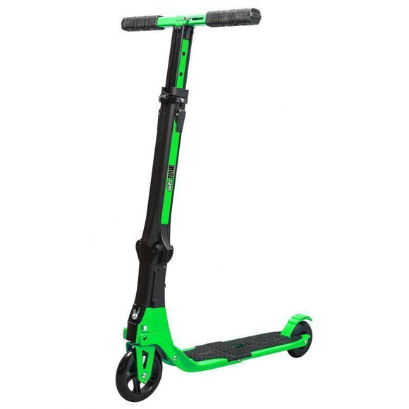 Go Skitz Tour Foldable Scooter with Backpack - Green Kids Ride On