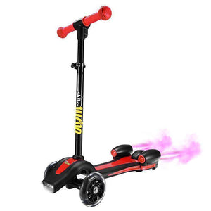Go Skitz Turbo 3 Wheeler Scooter - Red Kids Ride On