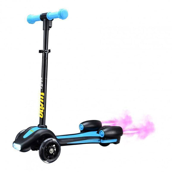 Go Skitz Turbo 3 Wheeler Scooter - Blue Kids Ride On