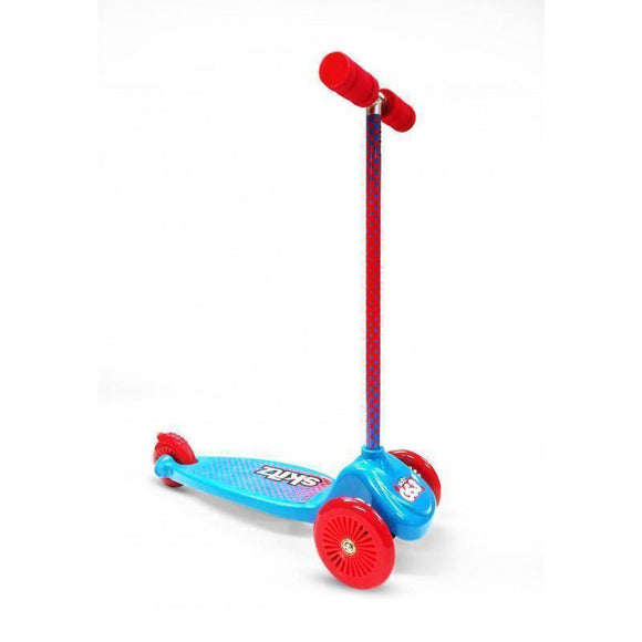 Go Skitz GS3 3 Wheeler Scooter - Blue/Red Kids Ride On