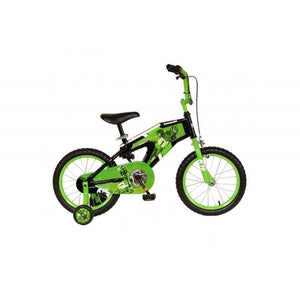 "Kawasaki K15 16"" Boys Kids Bike Green"