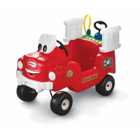 Little Tikes Spray & Rescue Fire Ride On Truck Ride On- Bounce and Swing