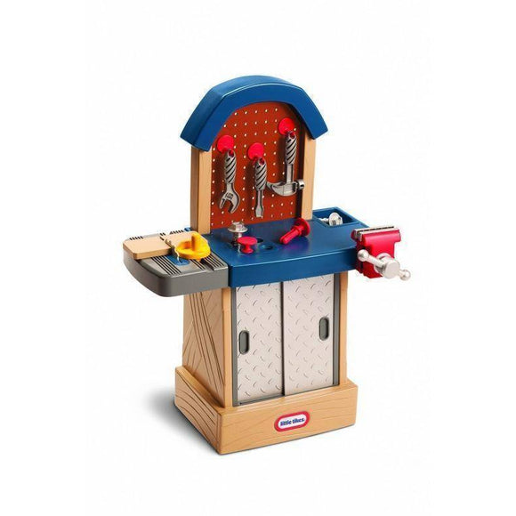 Little Tikes TIKES TOUGH™ WORKSHOP Workbench for Kids Play Sets- Bounce and Swing