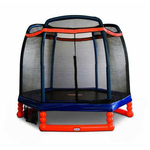 Little Tikes 7' Trampoline Trampolines- Bounce and Swing