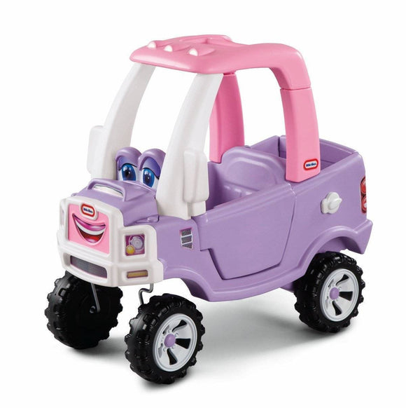 Little Tikes Princess Cozy Truck Ride On- Bounce and Swing