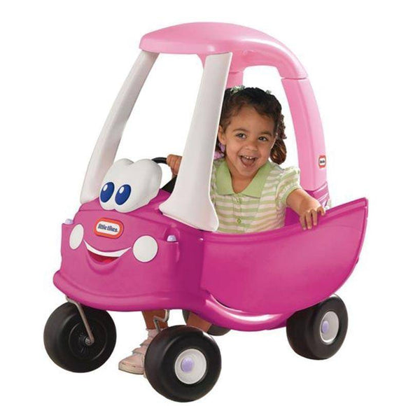 Little Tikes Cozy Coupe Princess Ride On- Bounce and Swing