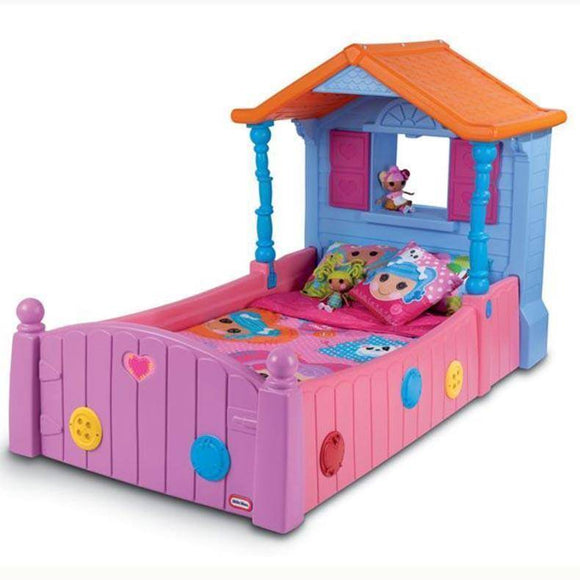 Little Tikes LALALOOPSY SINGLE BED Furniture- Bounce and Swing