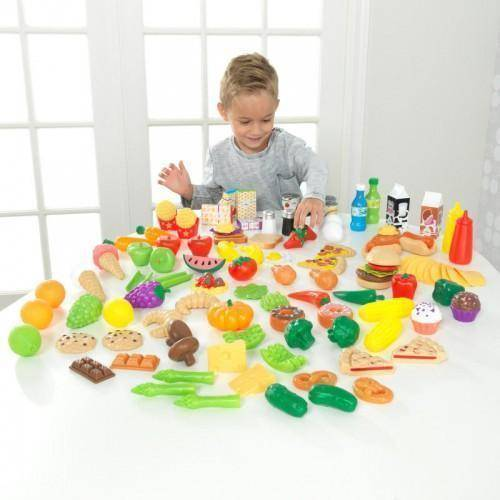 Kidkraft Deluxe Tasty Treats Pretend Play Food Play Sets- Bounce and Swing