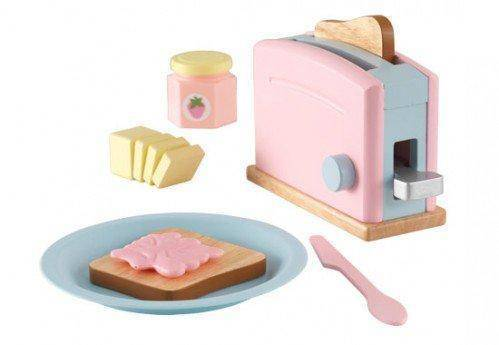 Kidkraft Pastel Toaster Set Play Sets- Bounce and Swing