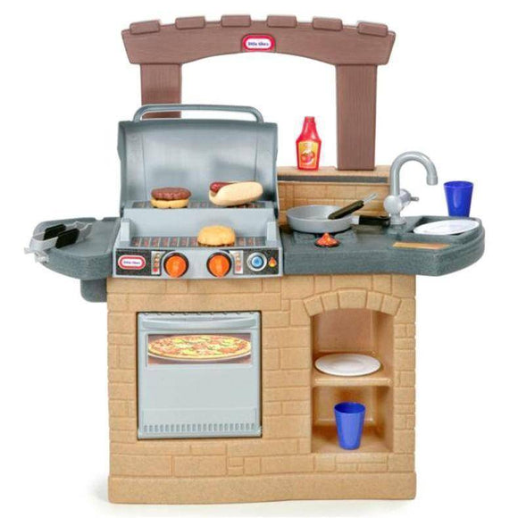 Little Tikes COOK 'N PLAY OUTDOOR BBQ Play Sets- Bounce and Swing
