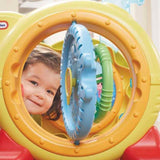 Little Tikes LIL' OCEAN EXPLORERS™ 3-IN-1 ADVENTURE COURSE Play Sets- Bounce and Swing