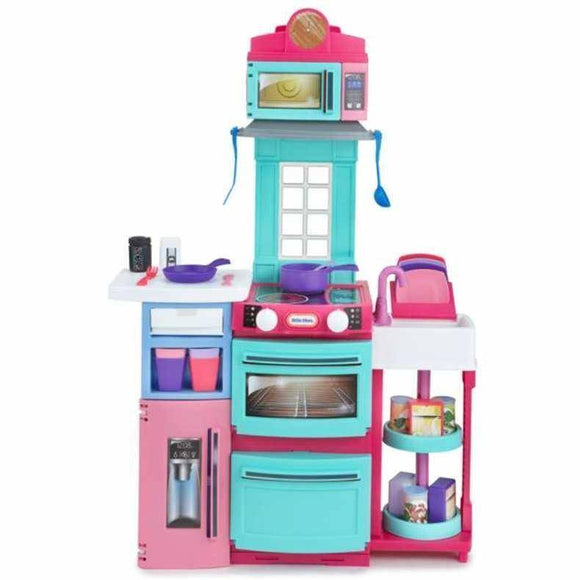 Little Tikes COOK 'N STORE KITCHEN (PINK) Play Sets- Bounce and Swing