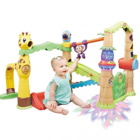 Little Tikes LIGHT'N'GO ACTIVITY GARDEN TREEHOUSE Play Sets- Bounce and Swing
