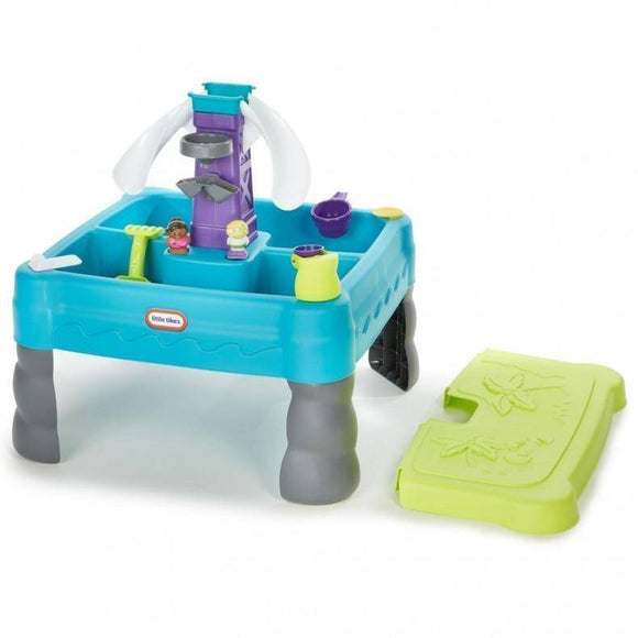 Little Tikes Sandy Lagoon Sand & Water Table Outdoor Play- Bounce and Swing