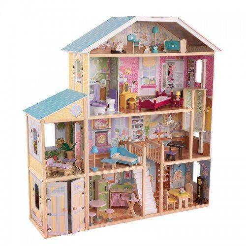 Kidkraft Majestic Manson Dollhouse Play Sets- Bounce and Swing